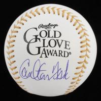 Carlton Fisk Signed Gold Glove Award Baseball (JSA COA) at PristineAuction.com