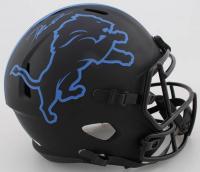 D'Andre Swift Signed Lions Full-Size Eclipse Alternate Speed Helmet (JSA COA) at PristineAuction.com