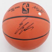 Enes Kanter Signed Mini NBA Game Ball Series Basketball (Fanatics Hologram & Steiner Hologram) at PristineAuction.com