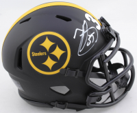 Minkah Fitzpatrick Signed Steelers Eclipse Alternate Speed Mini-Helmet (Beckett COA) at PristineAuction.com
