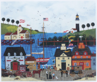 "Jane Wooster Scott Signed LE ""The Maine Attraction"" 20x22 Lithograph (PA LOA) at PristineAuction.com"