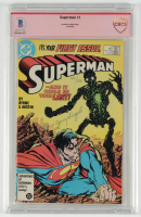 "Jerry Siegel Signed LE 1986 ""Superman"" Issue #1 DC Comic Book (BGS Encapsulated) at PristineAuction.com"