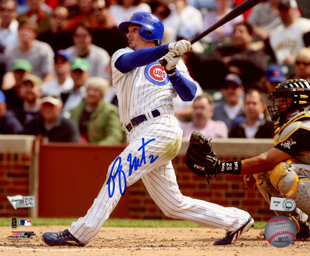 Ryan Theriot Signed Cubs 8x10 Photo (MLB Hologram & Fanatics Hologram) at PristineAuction.com