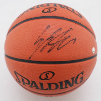 Enes Kanter Signed Mini NBA Game Ball Series Basketball (Fanatics Hologram & Steiner Hologram) at PristineAuction.com