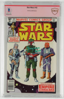 "Jeremy Bulloch Signed 1980 ""Star Wars"" Issue #42 Marvel Comic Book Inscribed ""Boba Fett"" (BGS Encapsulated) at PristineAuction.com"