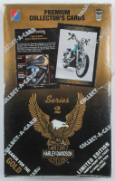 1992 Harley Davidson Premium Series 2 Collector's Cards Box with (36) Packs at PristineAuction.com