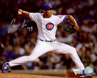 Carlos Marmol Signed Cubs 8x10 Photo (Fanatics Hologram) at PristineAuction.com