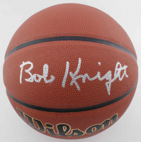 Bob Knight Signed NCAA Basketball (Beckett COA) at PristineAuction.com