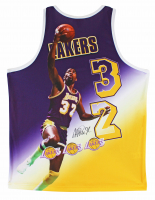 Magic Johnson Signed Lakers Portrait Jersey (Beckett COA) at PristineAuction.com