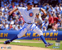 Randy Wells Signed Cubs 8x10 Photo (MLB Hologram, Fanatics Hologram, & Steiner COA) at PristineAuction.com