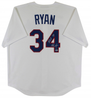 "Nolan Ryan Signed Rangers Jersey Inscribed ""H.O.F. '99"" (Beckett COA & Ryan Hologram) at PristineAuction.com"