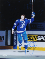 Steven Stamkos Signed Lightning 11x14 Photo (JSA COA) at PristineAuction.com
