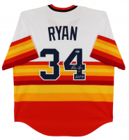 "Nolan Ryan Signed Astros Jersey Inscribed ""H.O.F. '99"" (Beckett COA & Ryan Hologram) at PristineAuction.com"