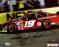 Jeremy Mayfield Signed NASCAR #19 8x10 Photo (Fanatics Hologram & Mounted Memories Hologram) at PristineAuction.com