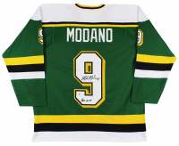 "Mike Modano Signed Jersey Inscribed ""HOF 2014"" (Beckett COA) at PristineAuction.com"