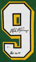 """Mike Modano Signed Jersey Inscribed """"HOF 2014"""" (Beckett COA) at PristineAuction.com"""