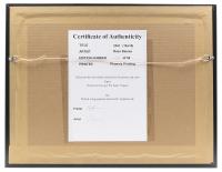 "Ross Baines Khabib Nurmagomedov ""29-0"" 16x16 Custom Framed Print Display at PristineAuction.com"