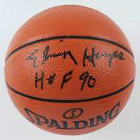 "Elvin Hayes Signed NBA Game Ball Series Basketball Inscribed ""HOF 90"" (Beckett COA) at PristineAuction.com"