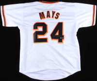 Willie Mays Signed Jersey (Tennzone COA & Mays Hologram) at PristineAuction.com