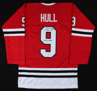 "Bobby Hull Signed Jersey Inscribed ""HOF 1983"" (PSA COA) at PristineAuction.com"