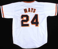 "Willie Mays Signed Jersey Inscribed ""660 HR"" (Tennzone COA & Mays Hologram) at PristineAuction.com"
