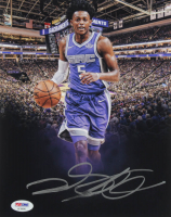 De'Aaron Fox Signed Kings 8x10 Photo (PSA Hologram) at PristineAuction.com