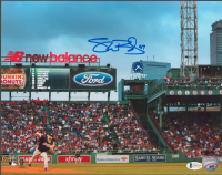 Shane Bieber Signed Indians 11x14 Photo (Beckett COA) at PristineAuction.com