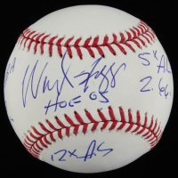 Wade Boggs Signed OML Baseball with (6) Inscriptions (PSA COA) at PristineAuction.com