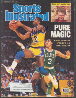 Magic Johnson Signed 1987 Sports Illustrated Magazine (Beckett COA) at PristineAuction.com