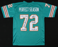1972 Dolphins Jersey Team-Signed By (6) with Larry Little, Manny Fernandez, Bob Griese, Jim Langer, Mercury Morris, Larry Csonka (JSA COA) at PristineAuction.com
