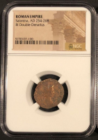 Solanina Roman Bronze Coin AD 254-269 (NGC Encapsulated) at PristineAuction.com