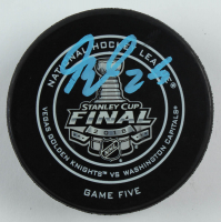 Devante Smith-Pelly Signed 2018 Stanley Cup Final Hockey Puck (Fanatics Hologram) at PristineAuction.com
