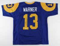 Kurt Warner Signed Rams Jersey (Beckett COA) at PristineAuction.com