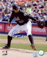 "Orlando Hernandez Signed Mets 8x10 Photo Inscribed ""Duke"" (Fanatics Hologram & Steiner Hologram) at PristineAuction.com"
