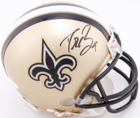 Drew Brees Signed Saints Mini Helmet (JSA COA) at PristineAuction.com