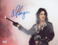 Alice Cooper Signed 11x14 Photo (PSA COA) at PristineAuction.com