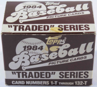 1984 Topps Traded Series Baseball Card Box with (132) Cards at PristineAuction.com