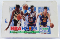 1992-93 NBA Hoops Series 1 Box with (36) Packs at PristineAuction.com