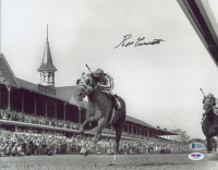 Ron Turcotte Signed 1973 Secretariat Triple Crown 11x14 Photo (Beckett COA & PSA Hologram) at PristineAuction.com