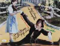 """""""The Wizard of Oz"""" 11x14 Photo Cast-Signed by (5) with Karl Slover, Mickey Carroll, Jerry Maren, Donna Stewart-Hardway with (2) Character Inscriptions (JSA COA) at PristineAuction.com"""