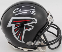 Calvin Ridley Signed Falcons Mini-Helmet (Beckett COA) at PristineAuction.com
