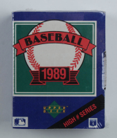 1989 Upper Deck Baseball Complete High Number Series Set with (100) Cards at PristineAuction.com