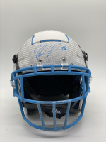 Shawne Merriman Signed Full-Size Authentic On-Field Hydro-Dipped F7 Helmet (PSA COA) at PristineAuction.com