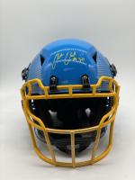 Austin Ekeler Signed Full-Size Authentic On-Field Hydro-Dipped Vengeance Helmet (Beckett Hologram) at PristineAuction.com