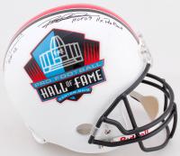 "Rod Woodson & Dermontti Dawson Signed Pro Football Hall of Fame Full-Size Helmet Inscribed ""HOF 12"" & ""HOF 09 11x Pro Bowl"" (TriStar Hologram) at PristineAuction.com"