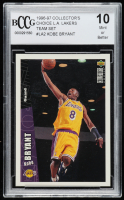 Kobe Bryant 1996-97 Collector's Choice Los Angeles Lakers #LA2 (BCCG 10) at PristineAuction.com