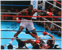 "James ""Buster"" Douglas Signed 16x20 Photo Inscribed ""Tyson KO"" & ""2/10/90"" (JSA COA) at PristineAuction.com"