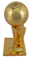 """Shaquille O'Neal Signed 12"""" Larry O'Brien NBA Championship Trophy (Beckett COA) at PristineAuction.com"""