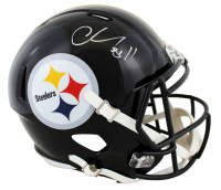 Chase Claypool Signed Steelers Full-Size Speed Helmet (Beckett COA) at PristineAuction.com
