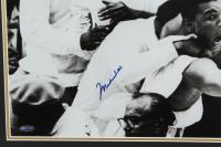 Muhammad Ali Signed 29x23 Custom Framed Photo Display (Online Authentics COA) at PristineAuction.com